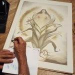 Corn Goddess Poster - Mario Torero Artist 2016