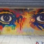 Eyes of Picasso - Oceaside. Mario Torero artist 2016