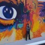 Eyes of Picasso - San Diego State University. Mario Torero artist 2015