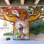 Mario Torero Artist - Laura - Chicano Park, Barrio Logan 1999