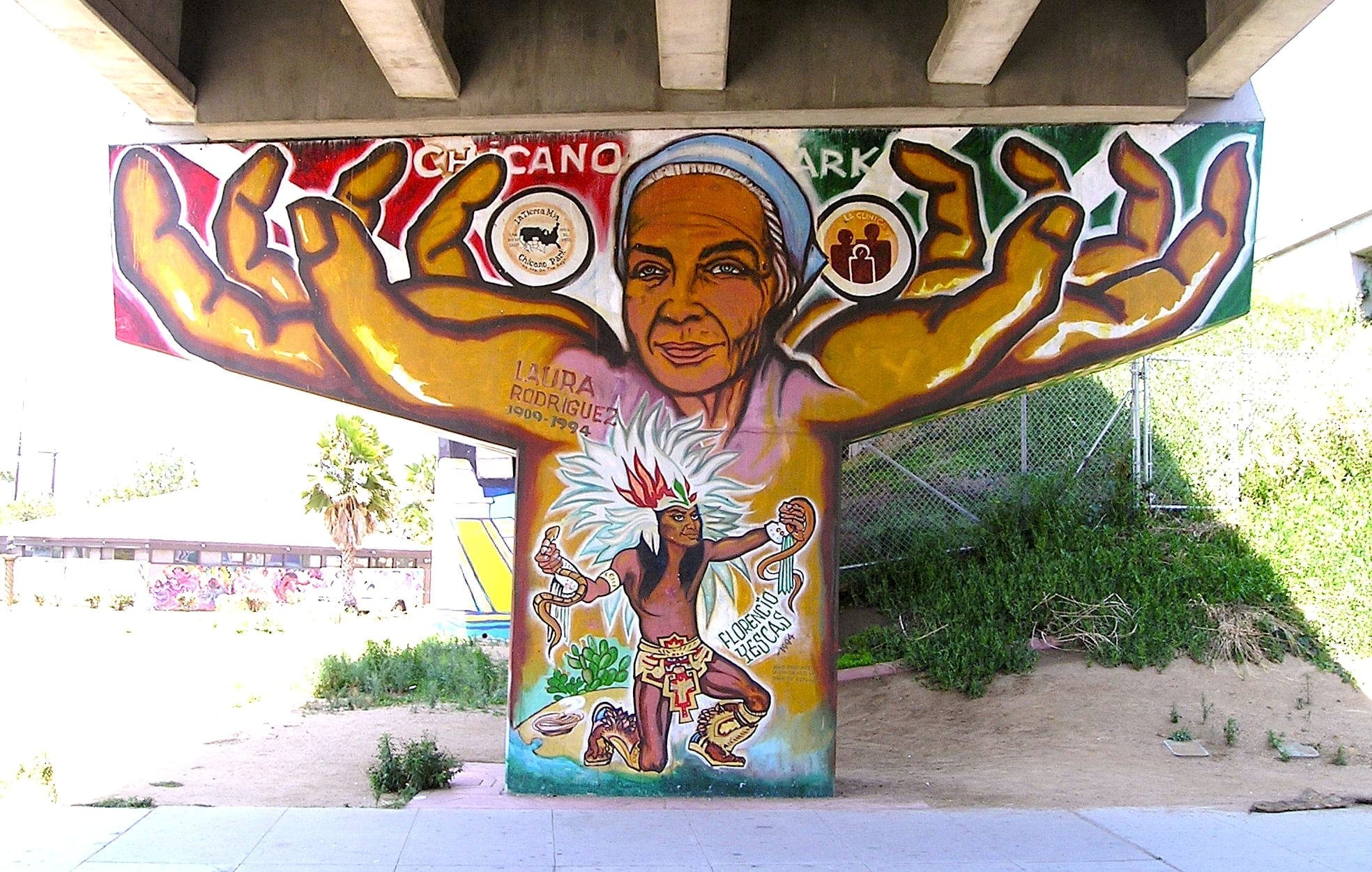 Murals mario torero for Chicano mural art