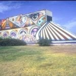 Cosmic Train of Wisdom North Park, San Diego. Mario Torero Artist 1990