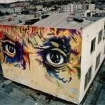 Ojos de Picasso - Downtown San Diego, California. Mario Torero artist 1978-1980