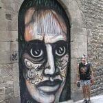 Ojos en Barcelona - Barcelona, Spain. Mario Torero artist 2005
