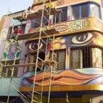 Ojos en Lima - Lima, Peru. Mario Torero artist 2004