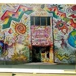 The Wall of Freedom - Einstein Elementary School, Golden Hill San Diego. Mario Torero artist 1990