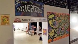 The End of Corruption - Centro Cultural de la Raza Dia de los Muertos 2015.  Mario Torero Artist
