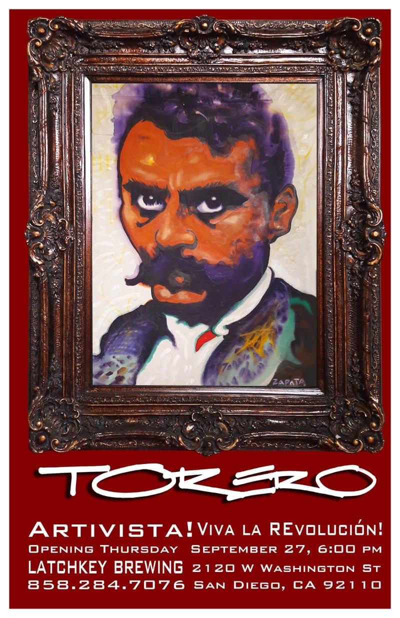 Torero: Artivista! Viva la REvolution!