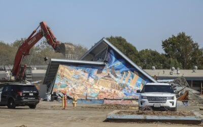 San Diego artists continue push to save murals slated for demolition at Logan Heights school